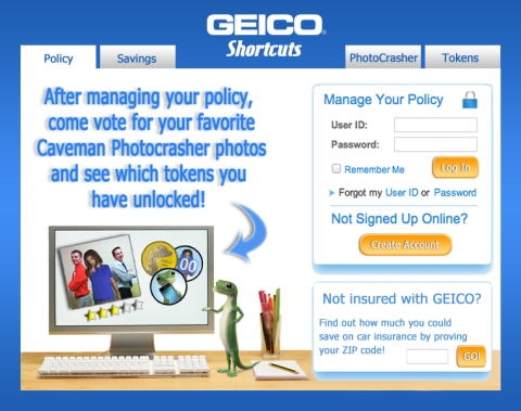 GEICO Shortcuts