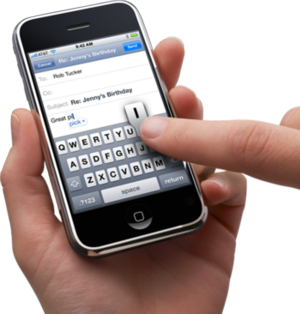 Iphone text tracker