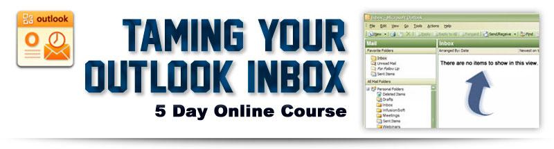 Taming Your Outlook Inbox