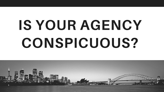 Is your agency conspicuous on-line?
