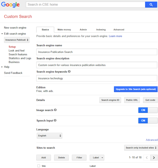 How to Create Google Custom Search Engine - YouTube