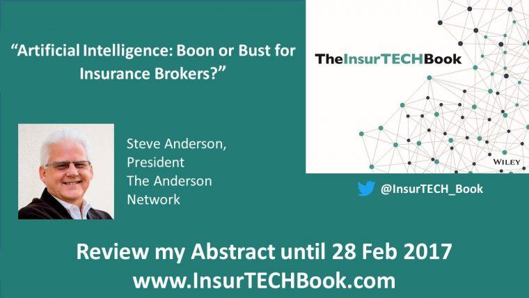 Steve Anderson InsurTECH Book