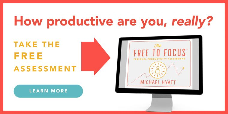 Free to Focus Productivity Assessment