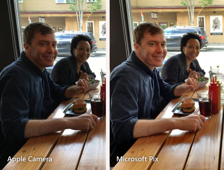 Microsoft Pix comparison