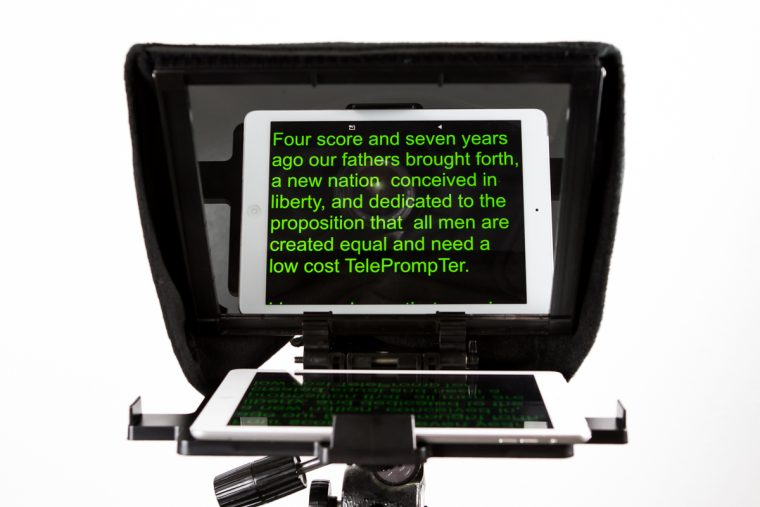 Caddy Buddy Teleprompter