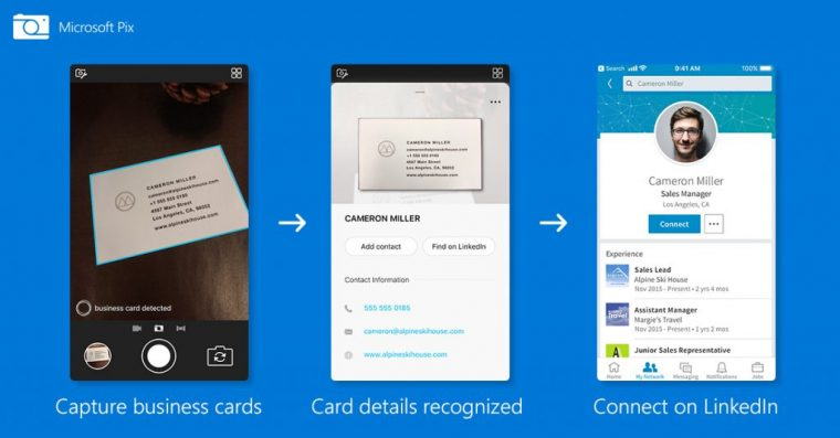 Microsoft Pix Bus Card Scanner