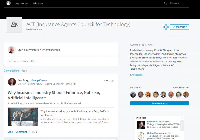 LinkedIn Groups