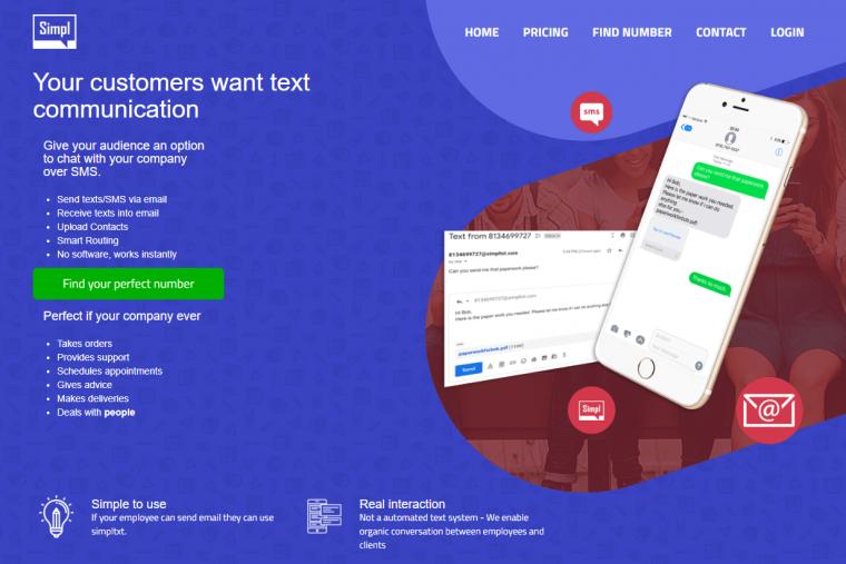 SimplTxt website