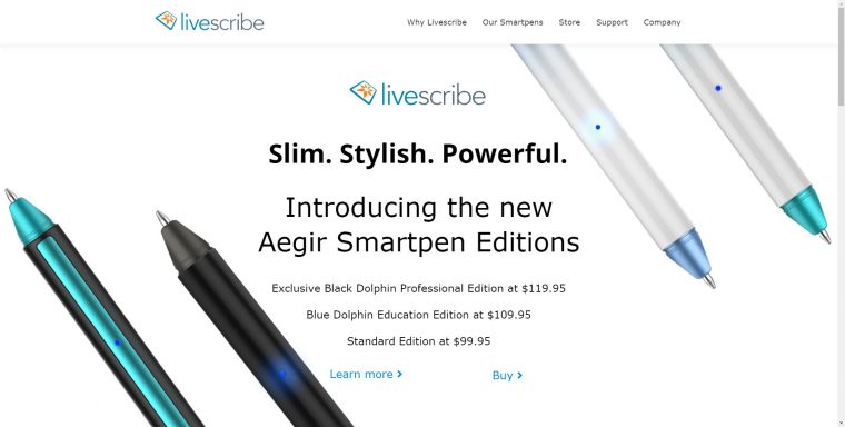 Livescribe Aegir Update