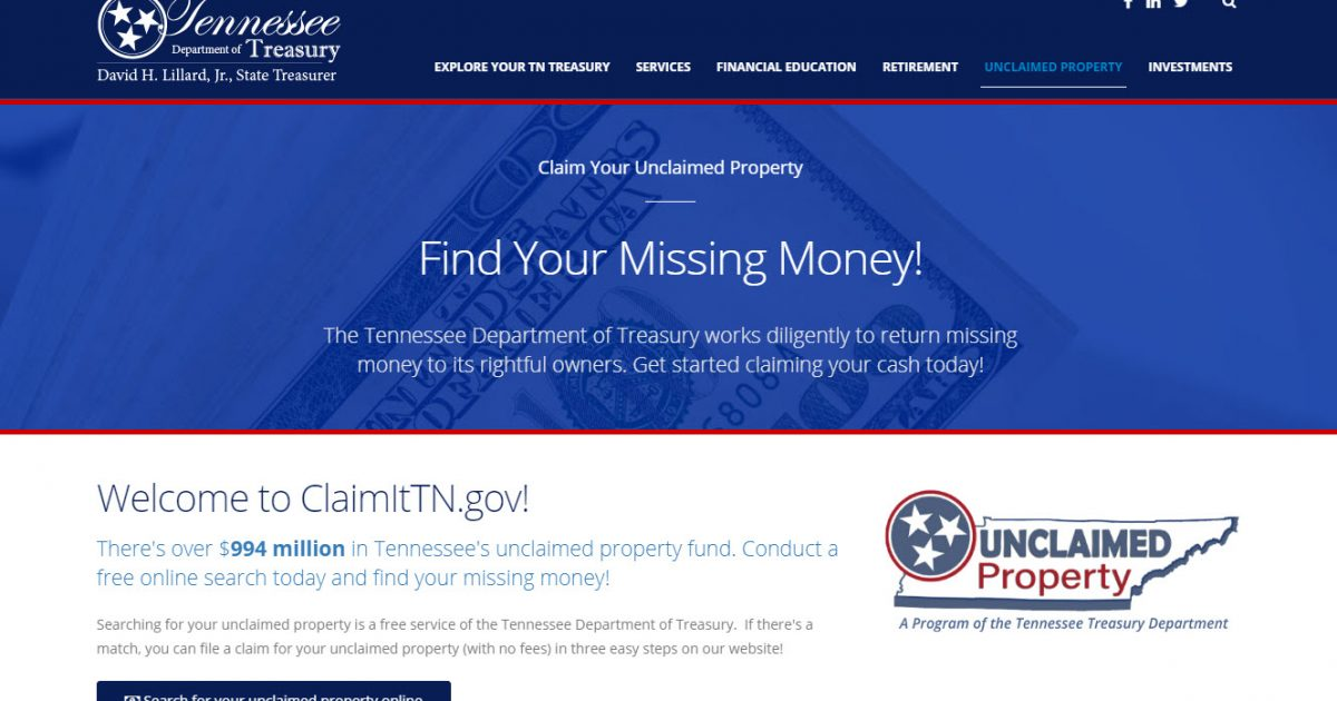 Free Money? Unclaimed Property? NAUPA is Actually Legit