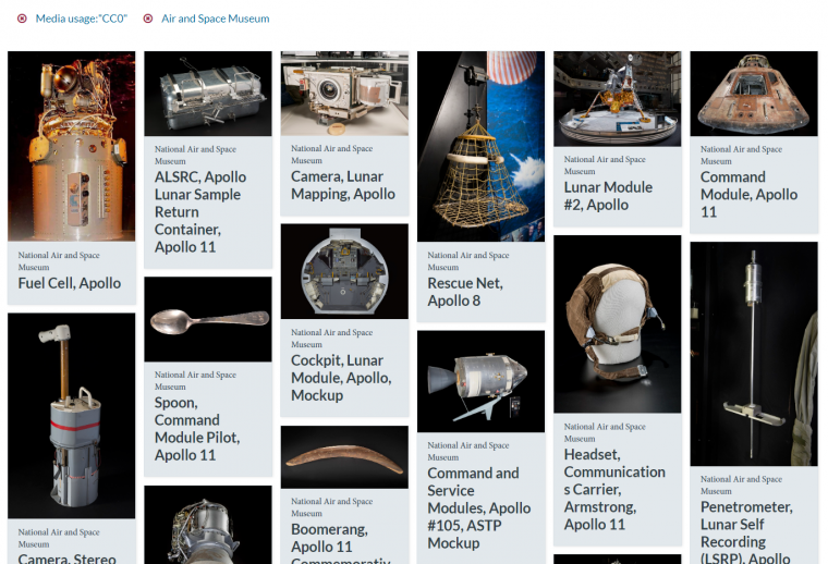 Smithsonian Open Access Image Archive