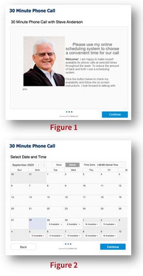 schedule calls